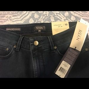 NYDJ Marilyn Straight Jeans, new with tags